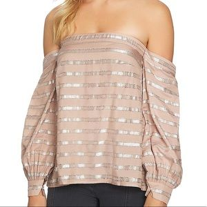 1. State Strapless Top